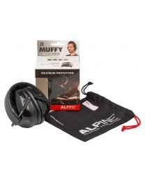 Alpine Muffy Music earmuff /hearing protection for musicians - black