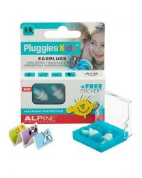 Alpine Pluggies Kids earplugs /hearing protection (3-12 years)