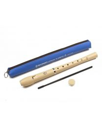 Angel Recorder - Soprano - Cream Coloured with Bag
