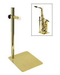 Gold Plated Stand For Alto Or Tenor Sax