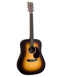 Martin X Series Dreadnought Electro Acoustic Guitar DX1AE Sunburst