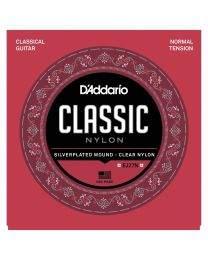 D'Addario Student Nylon, Classical Guitar Strings, Normal Tension EJ27N