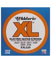 D'addario strings EXL-110 nickel roundwound - 010 - 3 Sets