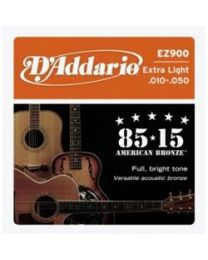 D'addario Strings 85/15  EZ900 Extra Light - 3 Sets
