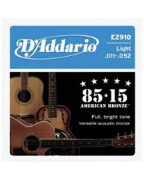 D'addario Strings 85/15 EZ910 - Light - 3 Sets