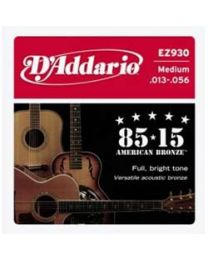 D'addario Strings 85/15 EZ930 - Medium - 3 Sets