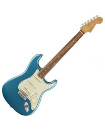 Fender Classic Series 60s Stratocaster, PW, Electric Guitar 013-1003-302 Lake Placid Blue
