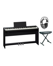 Roland FP-30 Digital Piano Complete Package with Stand, Pedals, Bench and Headphones