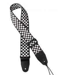 Gaucho Icon Series Guitar Strap 'Checkers Deck' GST-160-CH