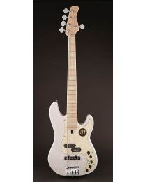 Sire Marcus Miller P7 2nd Gen Series Swamp Ash 5-String Bass Guitar P7+ S5/WB White Blonde