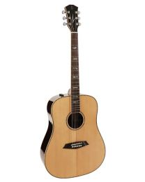 Sire R7 Series All Solid Acoustic Dreadnought Guitar with SIB Electronics Natural R7DSNT