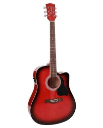 Richwood Artist Series Acoustic Guitar RD-12-CERS Red Sunburst