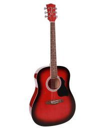 Richwood Artist Series Acoustic Guitar RD-12-RS Red Sunburst