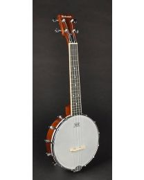 Richwood Master Series Open Back Ukulele Banjo with Mahogany Rim RMBU-404