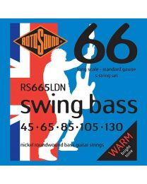 Rotosound 'Swing Bass 66' RS665LDN Nickel 5 String 45-130