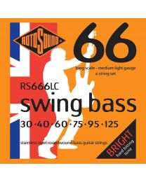 Rotosound 'Swing Bass 66' RS666LC 6 String Stainless Steel 30-125