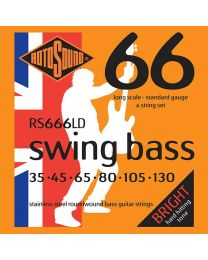 Rotosound 'Swing Bass 66' RS666LD 6 String Stainless Steel 35-130