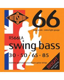Rotosound 'Swing Bass 66' RS66LA Stainless Steel 30-85