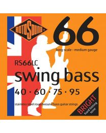 Rotosound 'Swing Bass 66' RS66LC Stainless Steel 40-95