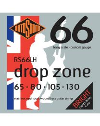 Rotosound 'Swing Bass 66' RS66LH Stainless Steel 65-130