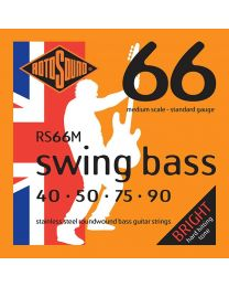 Rotosound 'Swing Bass 66' RS66M Medium Scale Stainless 40-90