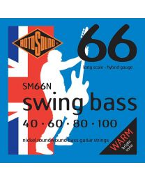 Rotosound 'Swing Bass 66' SM66N Nickel Hybrid 40-100