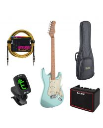 Stagg Starter Bundle - Strat Blue