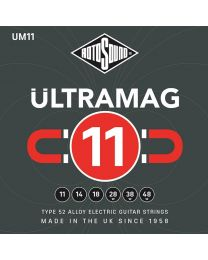 Rotosound Ultramag Electric Guitar String SetType 52 Alloy Wound 11-48 UM11