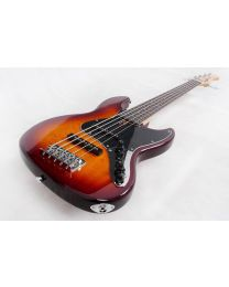 Sire Marcus Miller V3 5-String Electric Bass Guitar Tobacco Sunburst V3-5/TS