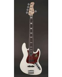 Sire Marcus Miller V7 2nd Gen Series Alder 5-String Bass Guitar Antique White V7+ A5/AWH