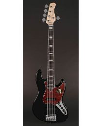 Sire Marcus Miller V7 2nd Gen Series Alder 5-String Bass Guitar Black V7+ A5/BK
