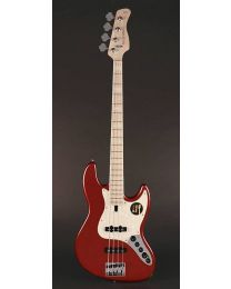 Sire Marcus Miller V7 2nd Gen Swamp Ash 4-String Bass Guitar Bright Metallic Red V7+ S4/BMR