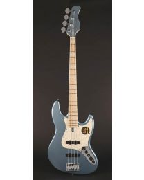 Sire Marcus Miller V7 2nd Gen Series Swamp Ash 4-String Bass Guitar Lake Placid Blue V7+ S4/LPB