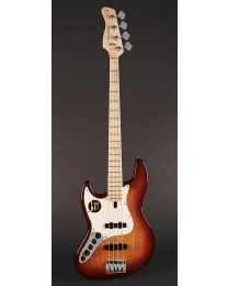 Sire Marcus Miller V7 2nd Gen Series Lefty Swamp Ash 4-String Bass Guitar Tobacco Sunburst V7+ S4L/TS