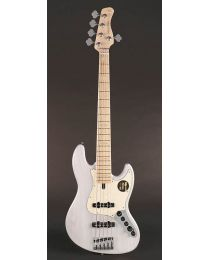 Sire Marcus Miller V7 2nd Gen Series Swamp Ash 5-String Bass Guitar White Blonde V7+ S5/WB