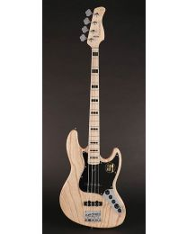 Sire Marcus Miller V7 Vintage 2nd Gen Series Swamp Ash 4-String Bass Guitar Natural V7V+ S4/NT