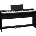 Roland FP-30 Digital Piano, Black with Stand and Pedals FP30