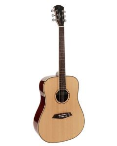 Sire Acoustics R3 DZ Series Dreadnought Guitar with Zebra Electronics - Natural Finish