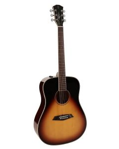 Sire Acoustics R3 DS Series Electro Acoustic Dreadnought guitar with SIB electronics - Vintage Sunburst