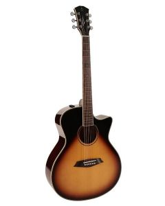 Sire Acoustics R3 GS Series acoustic grand auditorium guitar with SIB electronics and cutaway - Vintage Sunburst