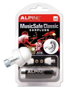 Alpine MusicSafe Classic earplugs /hearing protection for musicians