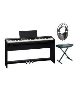 Roland FP-30 Digital Piano Complete Package with Stand, Pedals, Bench and Headphones FP-30-COMPLETE