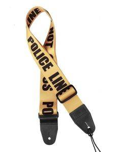 Gaucho Icon Series Guitar Strap 'Police Line - Do Not Cross' GST-160-PO