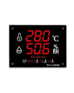 Boston Professional Large Screen Hygrometer (40x30cm) with Temperature HEC-658
