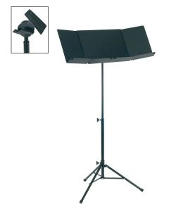 Boston Conductor Stand with Extra large 3-Piece Desk OMS-500
