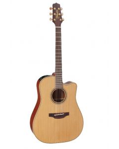 Takamine Pro Series P3DC Electro Acoustic Guitar - Solid Cedar Top