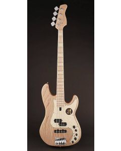Sire Marcus Miller P7 2nd Gen Swamp Ash 4-String Bass Guitar P7+ S4/NT Natural