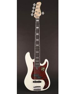 Sire Marcus Miller P7 2nd Gen Series Alder 5-String Bass Guitar P7+ A5/AWH Antique White