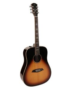 Sire R7 Series All Solid Acoustic Dreadnought Guitar with SIB Electronics Sunburst R7DSVS