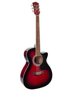 Richwood Artist Series Acoustic Guitar RA-12-CERS Red Sunburst